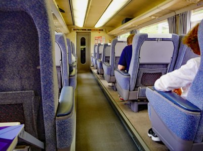 Interior Shinkansen