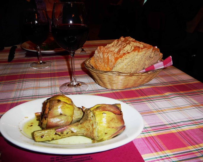 Deep Fried Artichokes a la Romana - Mari Nicholson