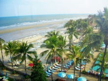 Part of Hua Hin Beach