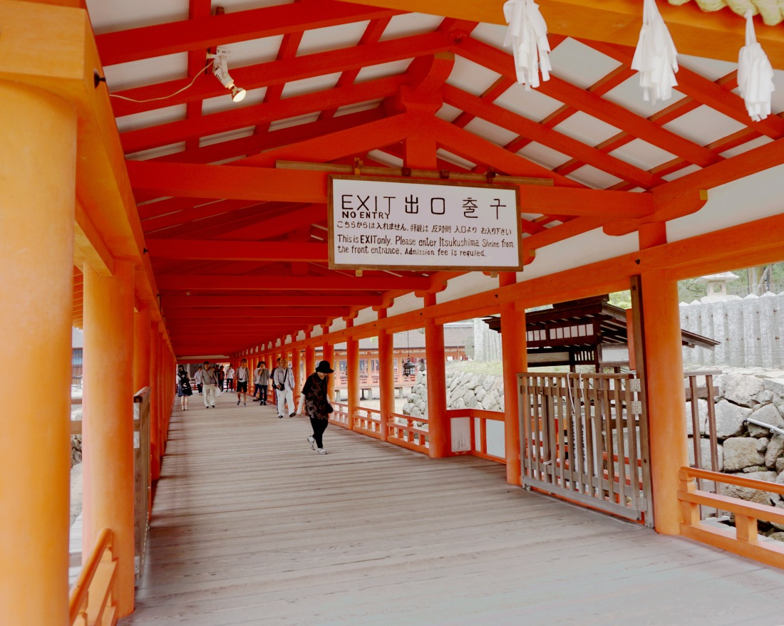 Itsukushima Shinto Shrine on Miyajima - Mari Nicholson