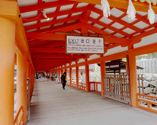 Itsukushima Shinto Shrine on Miyajima - Mari Nicholson