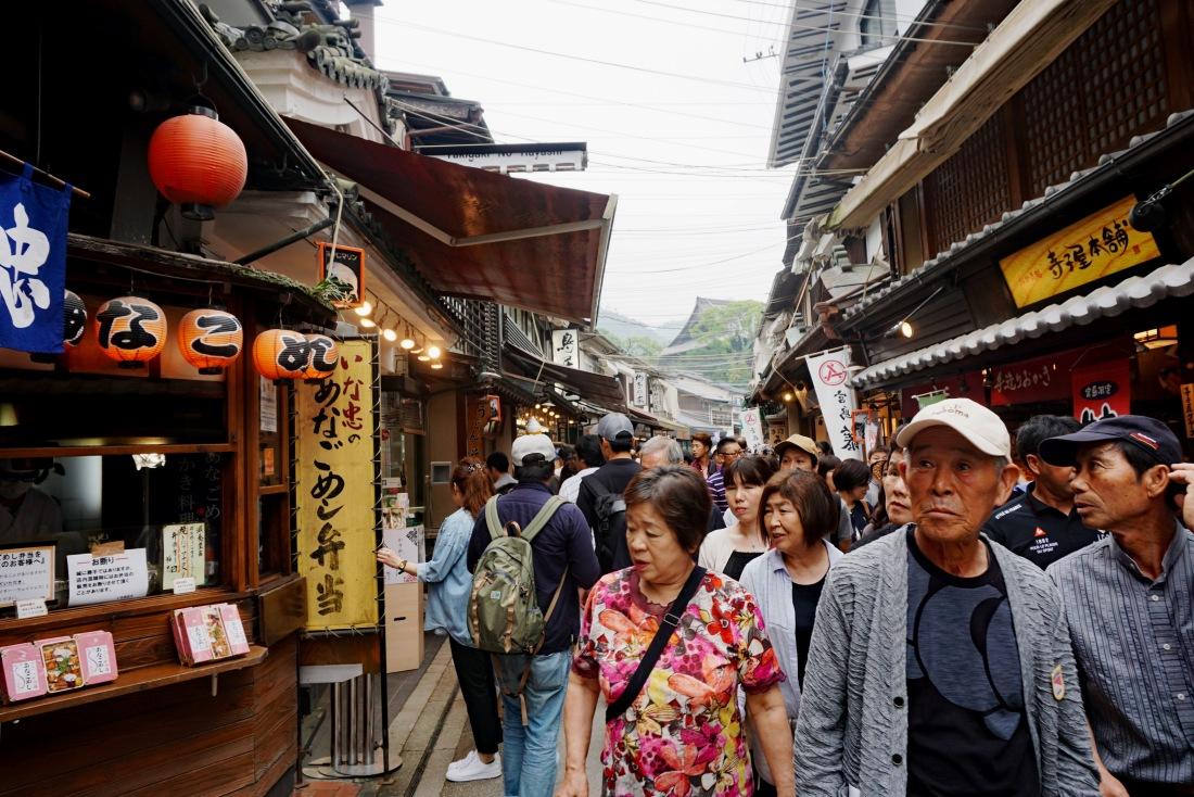 Street scene Miyajima - Mari Nicholson