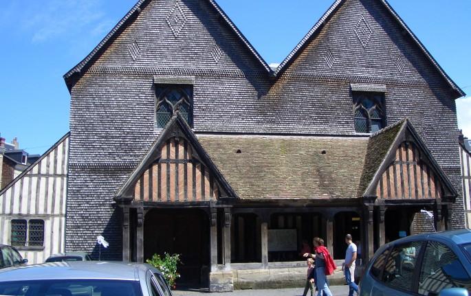 Honfleur old Belfry Tower