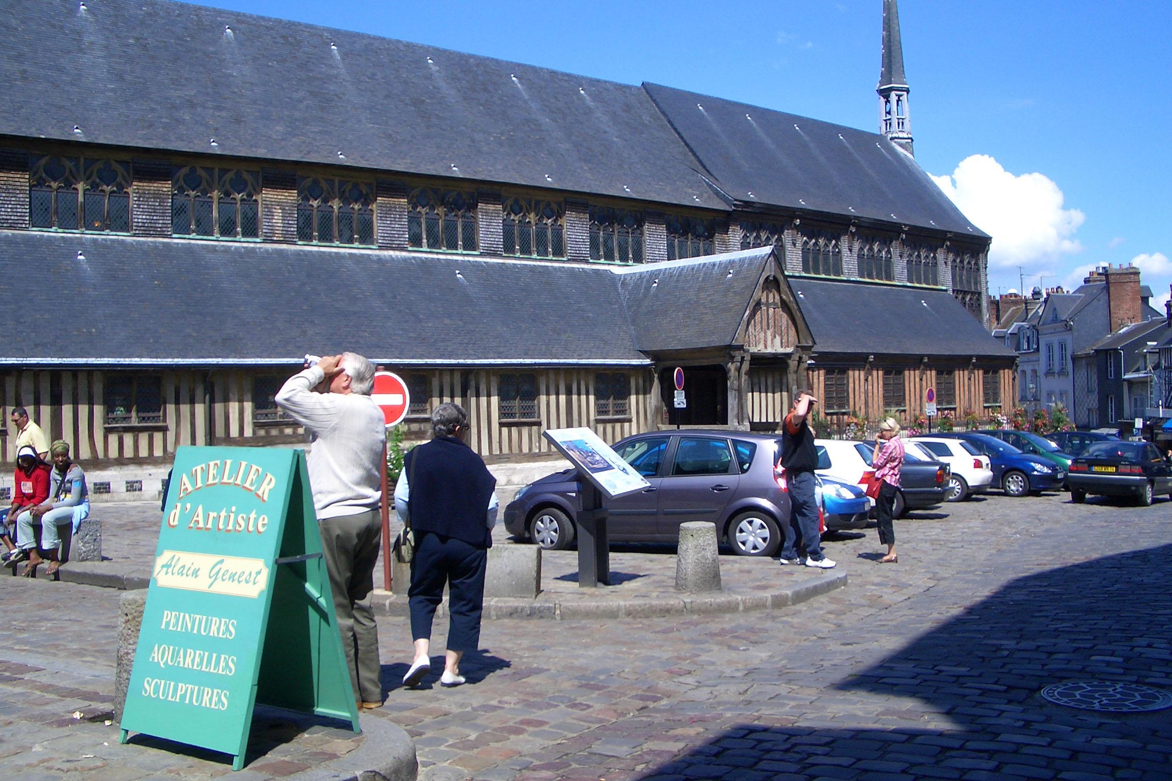 Honfleur Wooden Church