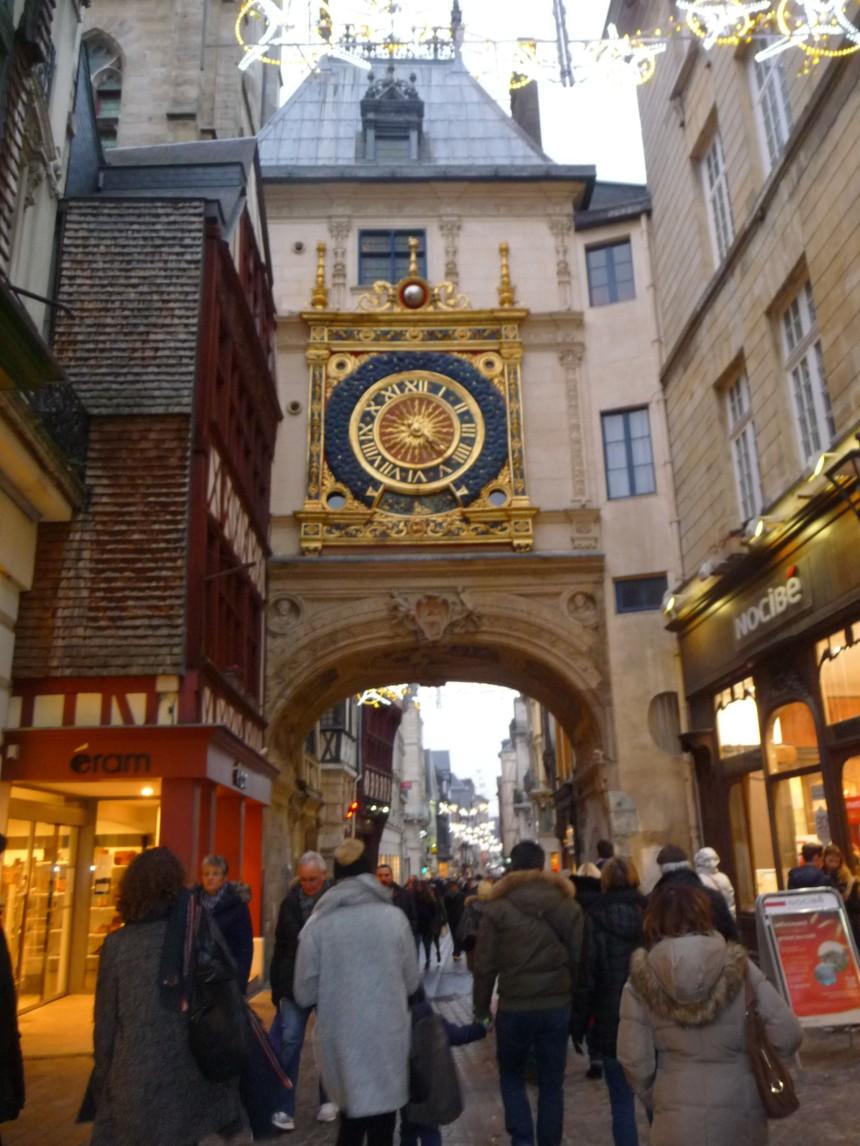 The Great Clock, Rouen