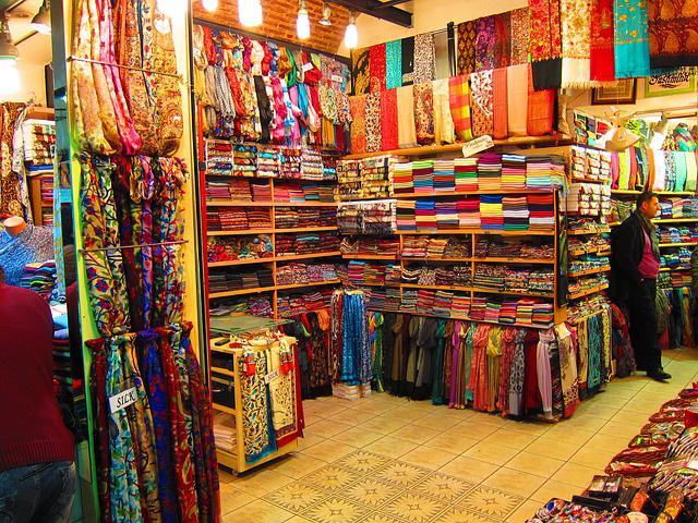 Bazaar in Istanbul - Carpets
