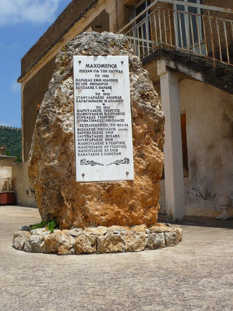 War Memorial in Maloliopoulo