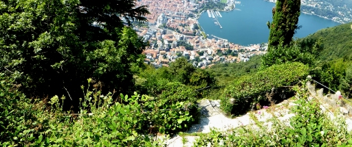 Como Panoram from above