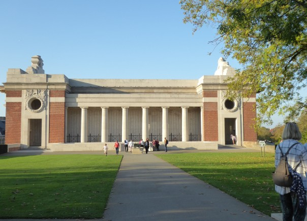Menin Gate (back of)