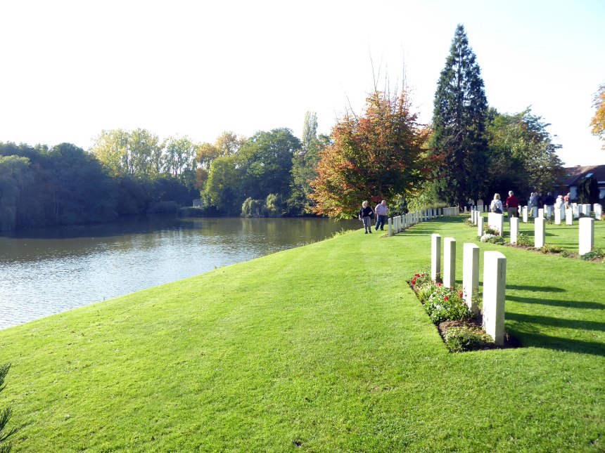Ypres-cemetery---peaceful-now,-but-it-was-once-a-scene-of-horrow