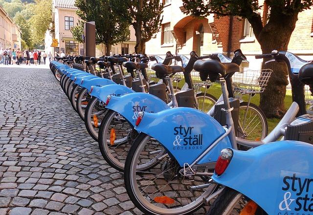 Bike station, Pixabay