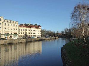 Canal walk in Gothenburg