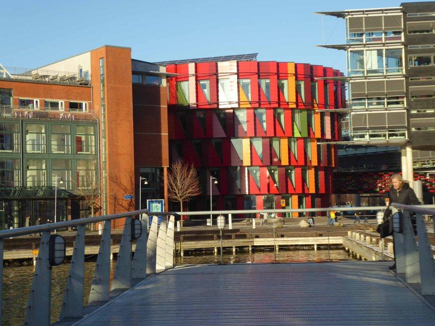 Gothenburg, colourful building