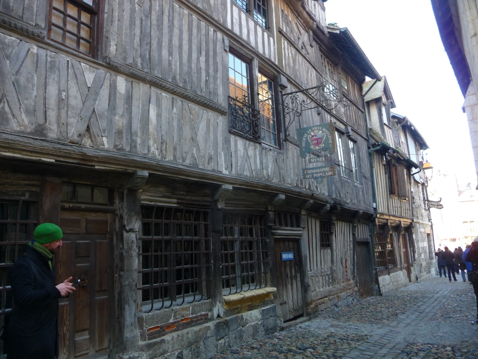 Lots of Interesting doorways in Honfleur, France