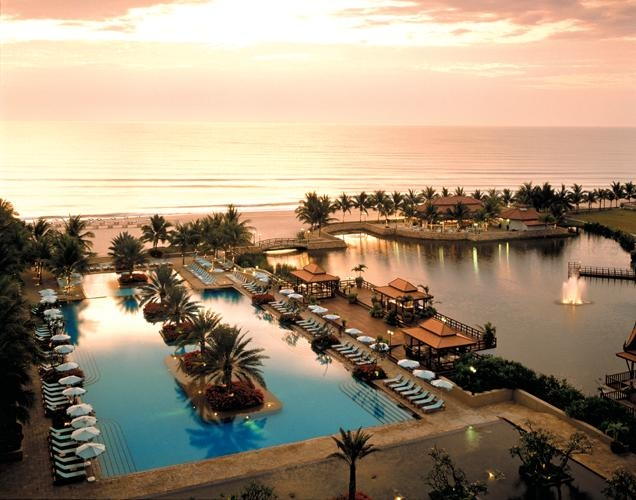 Sunrise over Gulf of Siam