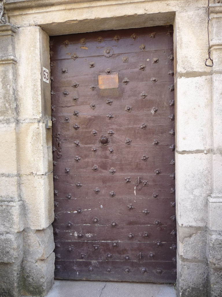 Very iold door, Noyes, France