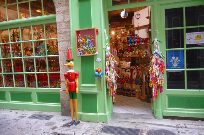 Artisan's toy shop