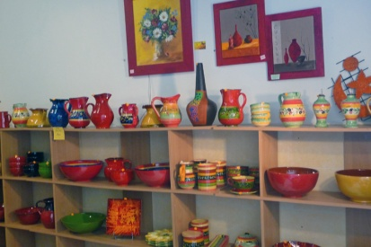 Ceramics in Pezanas