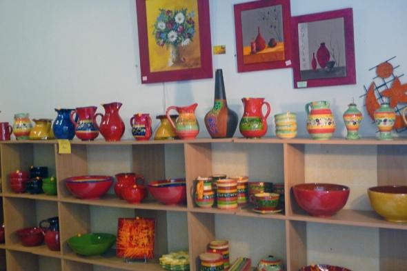 Ceramics in Pezanas