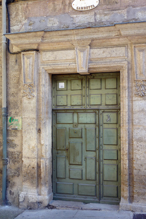 Oldest Door in Town