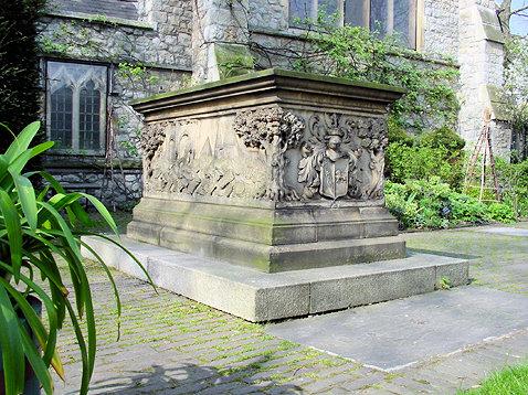 Tradescant tomb J