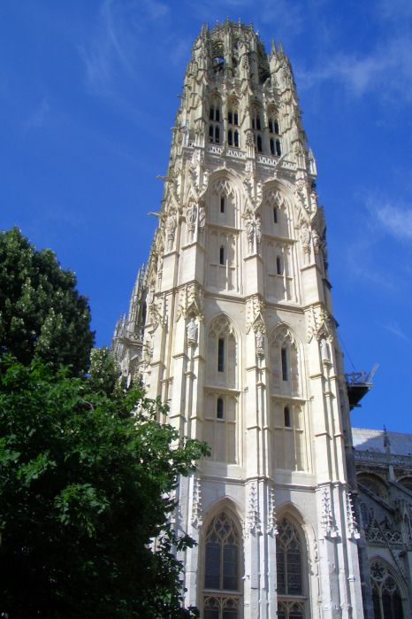 Spire of Notre-Dame Cathedral