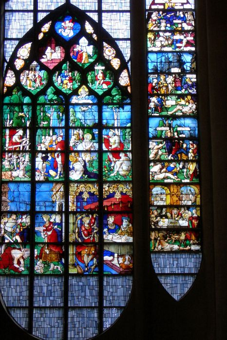 Stained Glass Window in Rouen