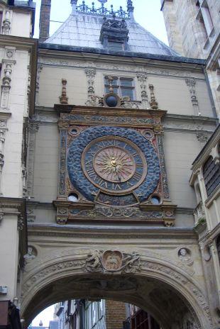 The Great Cl;ock in Rouen