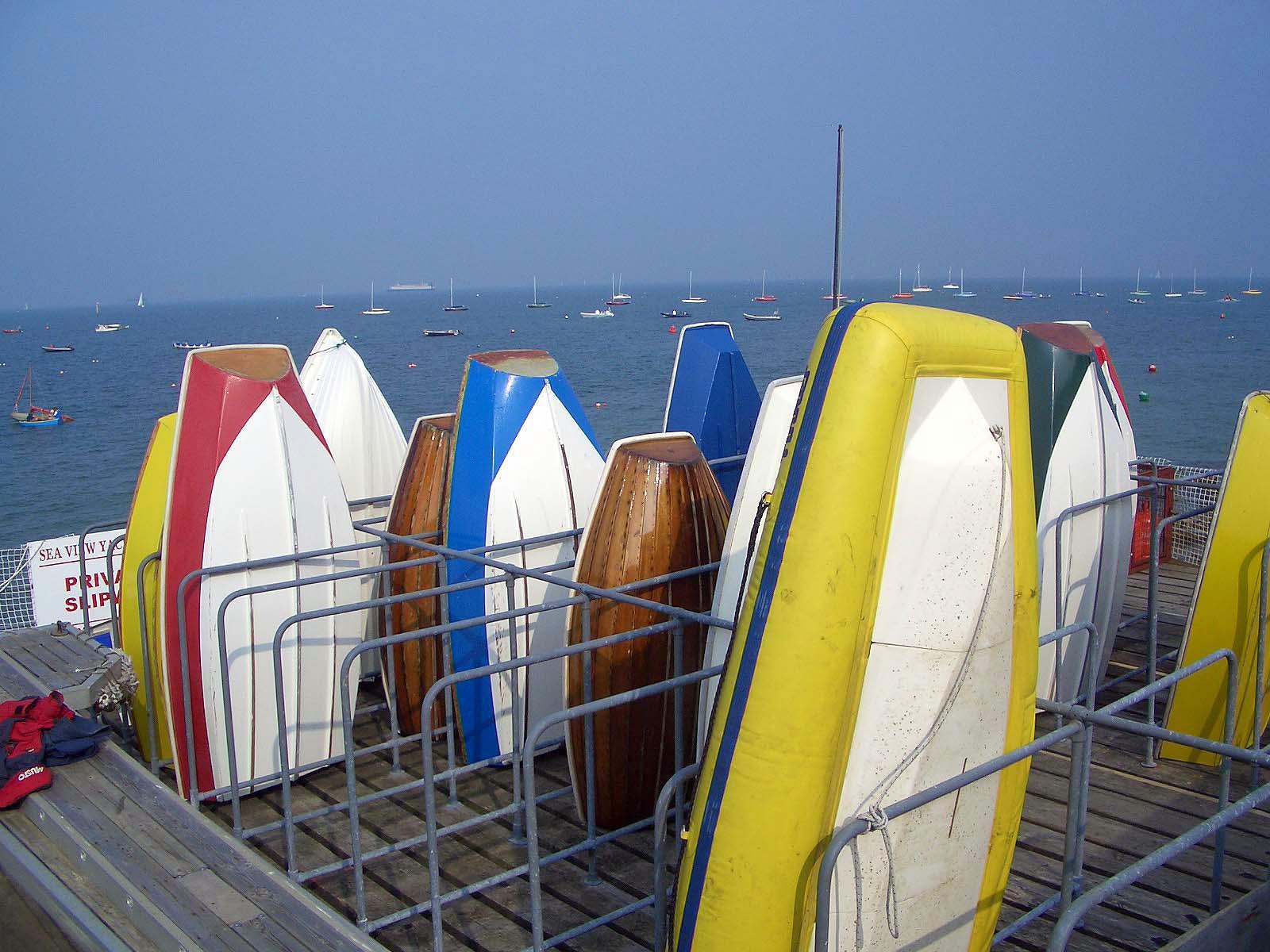 Boats at Seaview