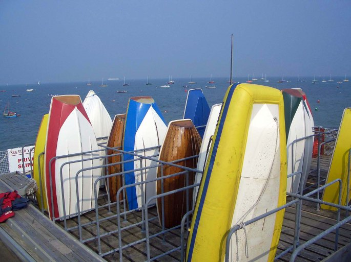Boats at Seaview
