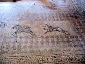 MOSAICS IN HOUSE OF DIONYSUS