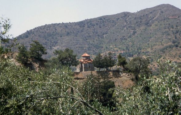 Village in Mountains near Kykko Monastery