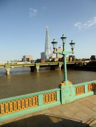 The Shard can be seen from almost everywhere
