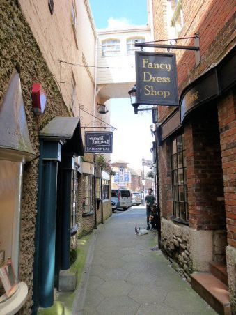An Attractive Lane in Newport ©VisitIsleofWight.com