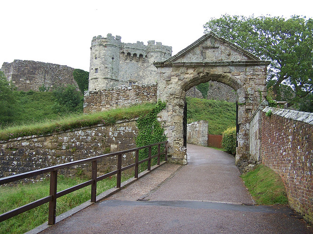 Carisbrooke Castle Copyright David Hill (Flickr)