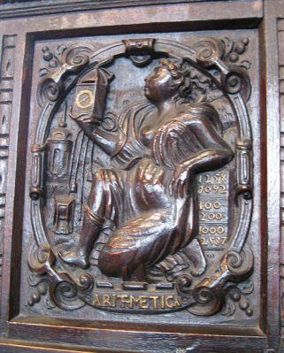Carvings in Newport Minster