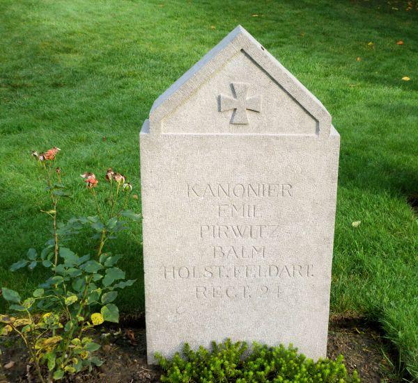 German Grave in Saint-Symphorien Cemetery