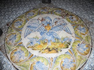 Mosaic Floor in Foyer