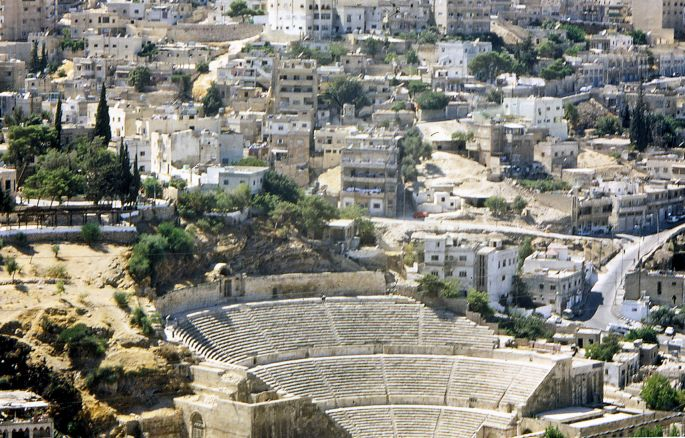Amman from Citadel Hill