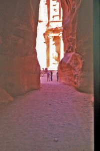 Approaching the City the Siq