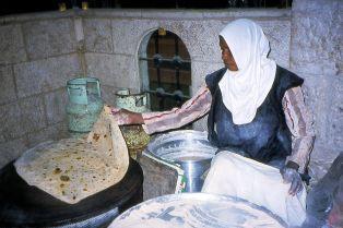 Bread Maker in Restaurant