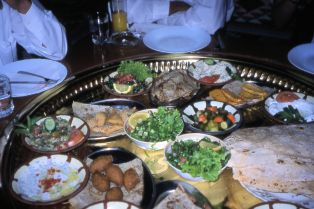 Mezze Table
