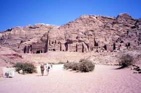 Lower City near Tombs
