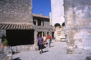 Les Baux village