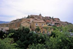 Rousillon, the village