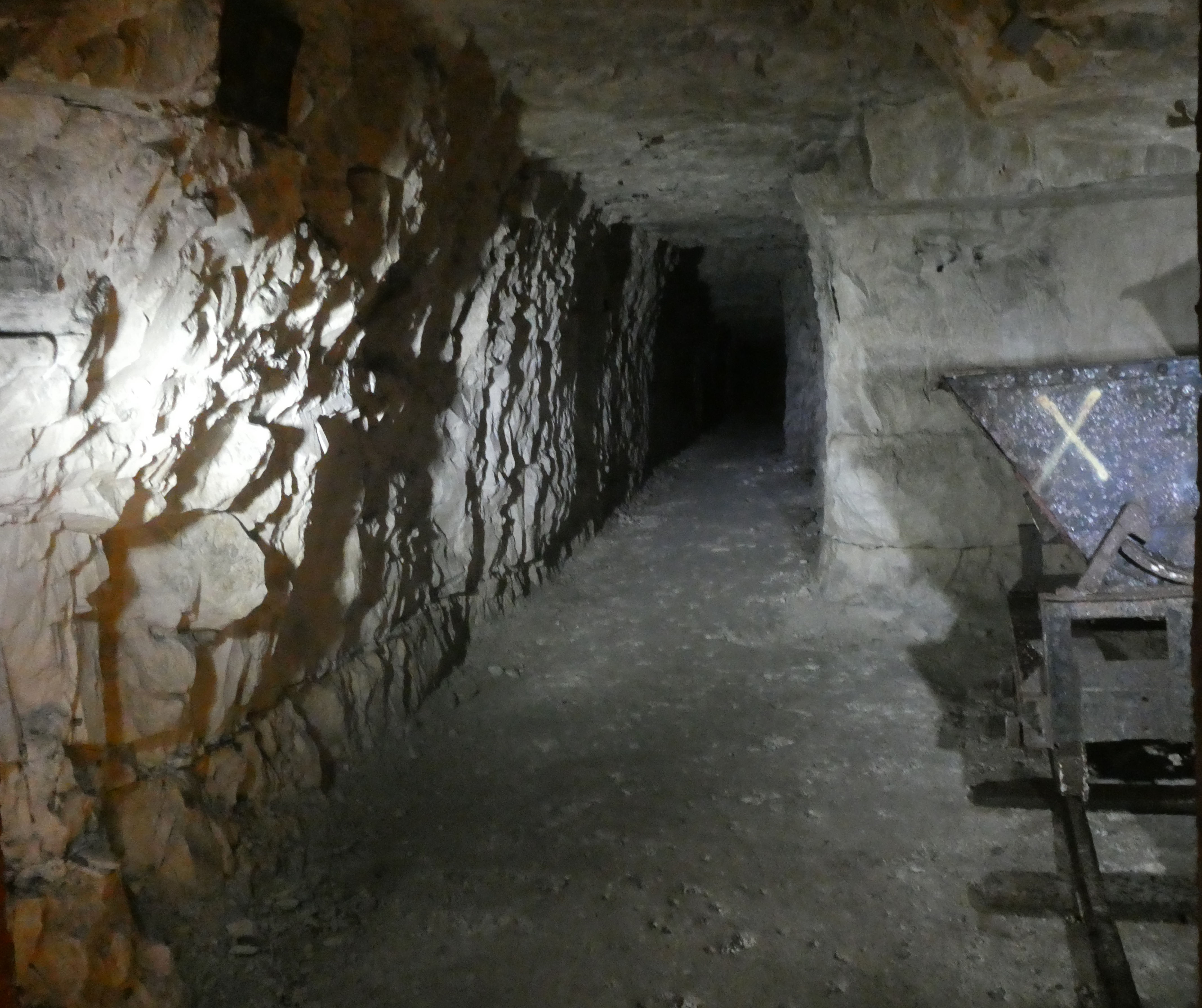 Welling Quarry - The Tunnels